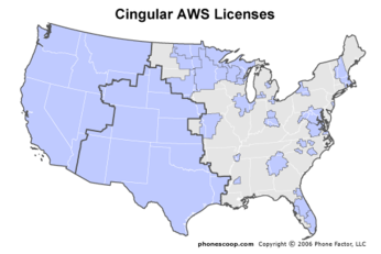 cingular wireless aws licenses