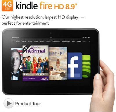 kindle fire hd with lte