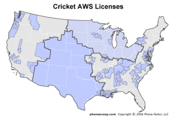 leap wireless aws licenses including denali