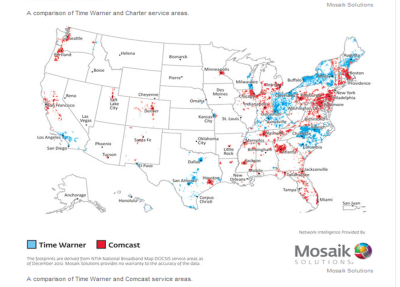 comcast time warner combined map