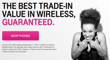 trade in screen shot t-mobile