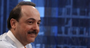Ralph de la Vega, president and CEO of AT&T Mobility and Consumer Markets, speaks at the Reuters Global Technology Summit New York