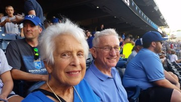 mom and dad at royals angels game cropped